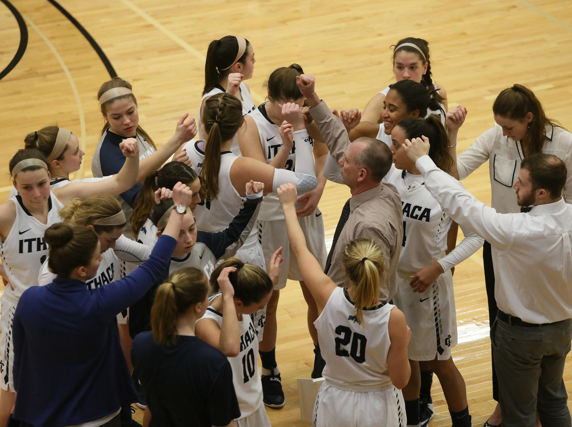 Ithaca college athletics wbb team 2 14 17 publicscrutiny Choice Image